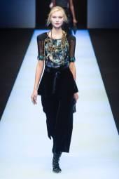 Yana Trufanova - Giorgio Armani Fall 2018 Ready-to-Wear