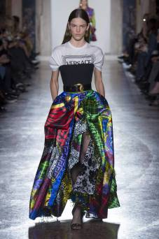 Matea Brakus - Versace Fall 2018 Ready-to-Wear