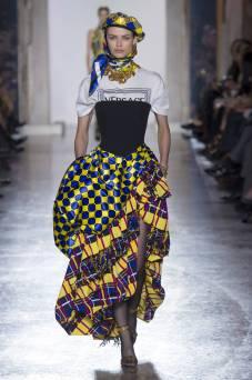 Birgit Kos - Versace Fall 2018 Ready-to-Wear