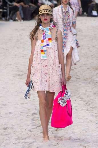 Alina Bolotina - Chanel Spring 2019 Ready-to-Wear
