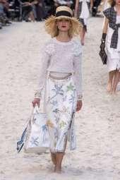 Alina Egorova - Chanel Spring 2019 Ready-to-Wear