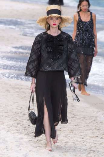 Sara Grace Wallerstedt - Chanel Spring 2019 Ready-to-Wear