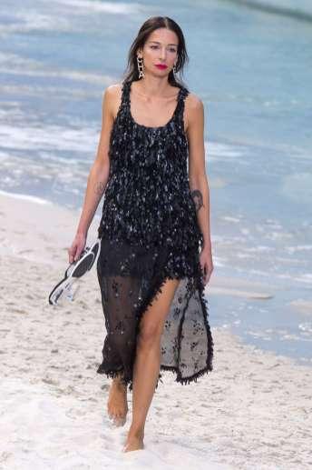 Amanda Sanchez - Chanel Spring 2019 Ready-to-Wear