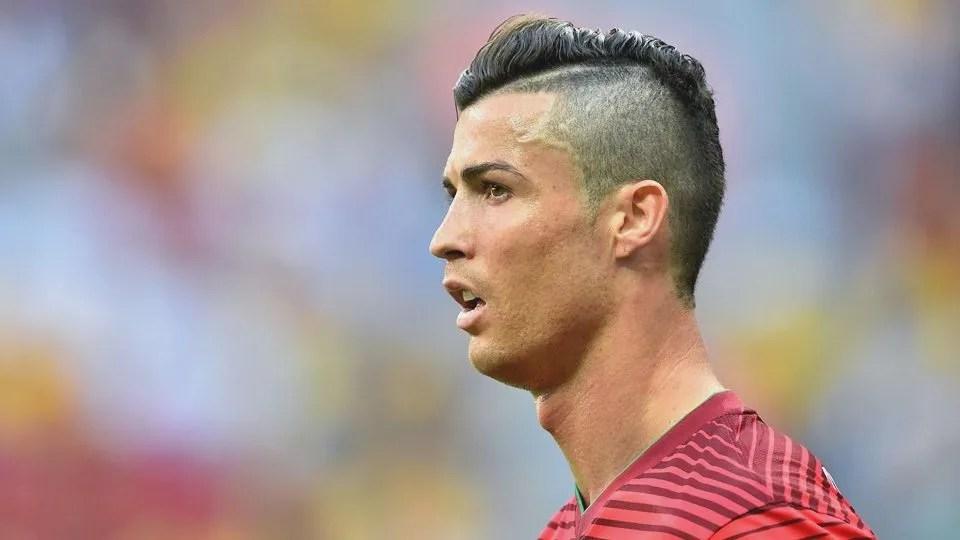 El Pelo De Cristiano Ronaldo En El 2015 Rapado Lado