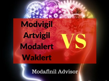 Modvigil vs Modalert vs Waklert vs Artvigil