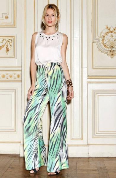 Vuelven Los Palazzos Tendencia 2015 2016 Moda De Hoy