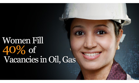 woman in oil and gas