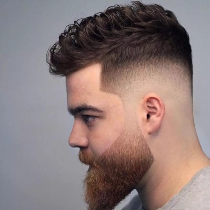 cortes de cabelo masculino degradÊ 2020 → tendências