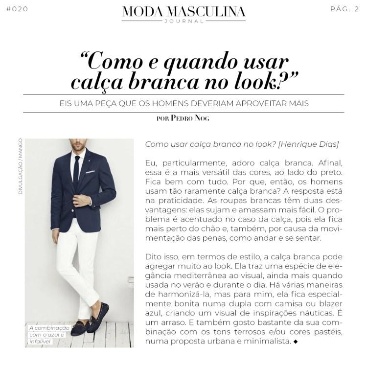 Moda Masculina Journal #020