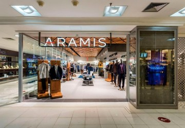 Aramis loja conceito flagship