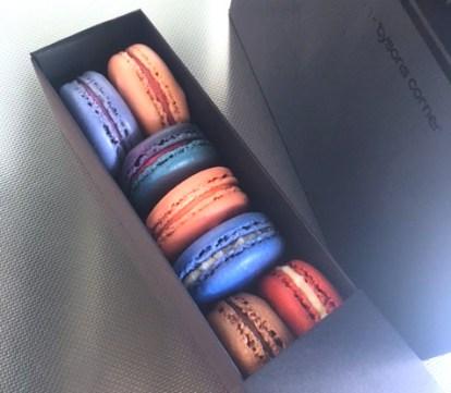 Olivia Macaron treats