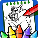 Superheroes spider coloring book 2020 2.2.0 Mod Download – for android