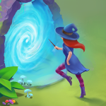 Charms of the Witch Magic Mystery Match 3 Games Mod Apk 2.33.1 Unlimited money for android