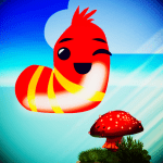 Download Whirlybird doodle larva jumping game 1.1 Mod Apk (unlimited money)