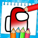 Download Among Us Coloring Book: Create Your Own Imposter 1.0.7 Mod Apk (unlimited money)
