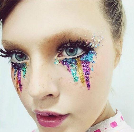maquiagem brilho