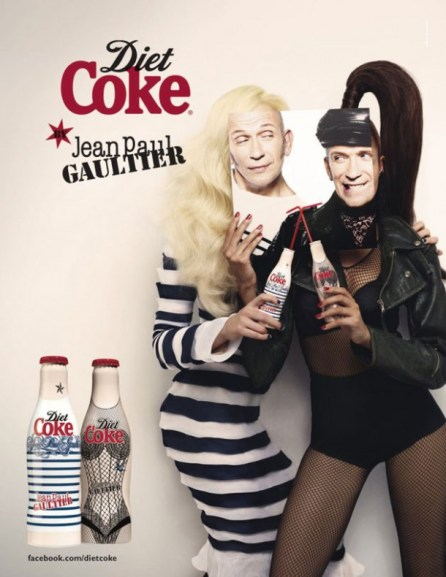 ICONS COLLABORATE: Diet Coke + Jean Paul Gaultier 2012