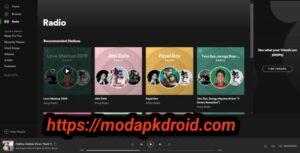 Spotify Mod Apk Radio