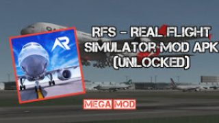 RFS – Real Flight Simulator MOD APK 1.2.4 (FULL - UNLOCKED) 2021