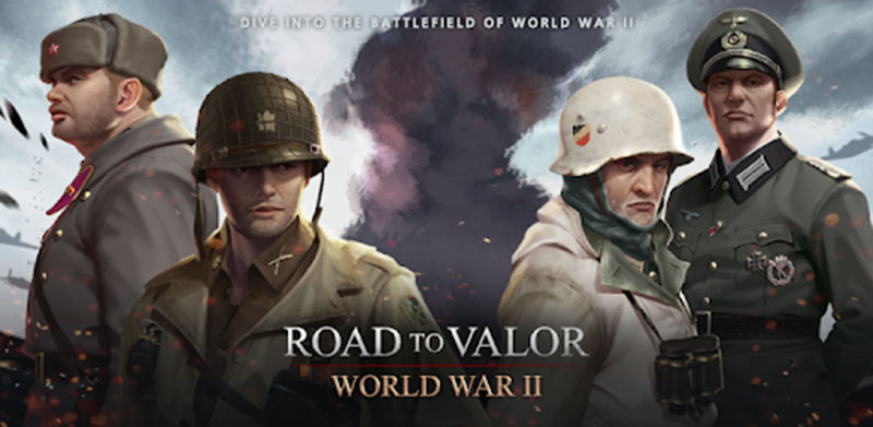Road to valor - World war 2 Mod Appk