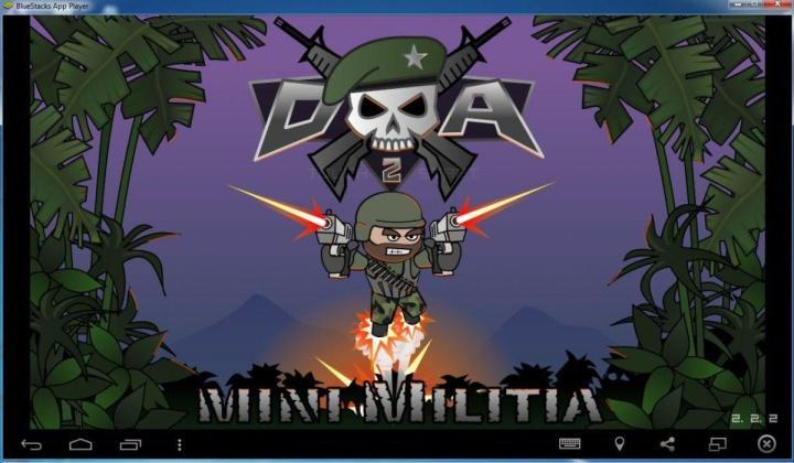 mini militia on computer