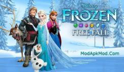 Frozen Free Fall Mod Apk + obb data