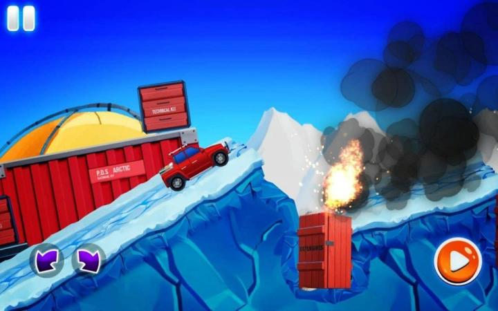 Arctic Roads Car Racing Game Mod Apk
