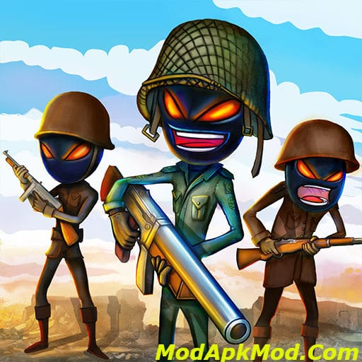 Stickman Royale World War Battle Mod Apk