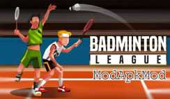 Badminton League Mod Apk Android with Unlimited Money