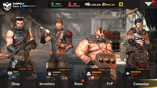 dead warfare zombie mod apk unlimited money download