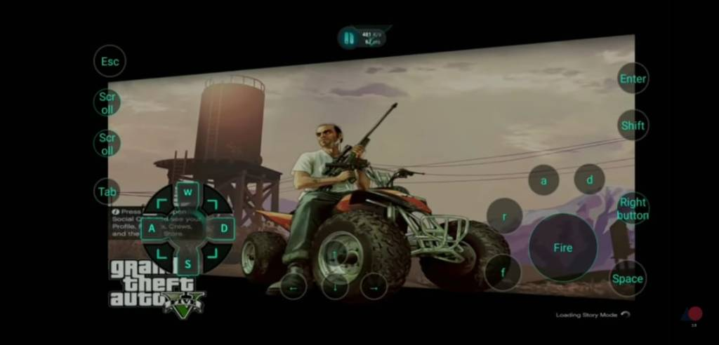 play gta 5 on android with netboom emulator