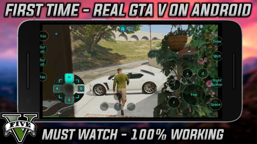 play gta 5 full game android