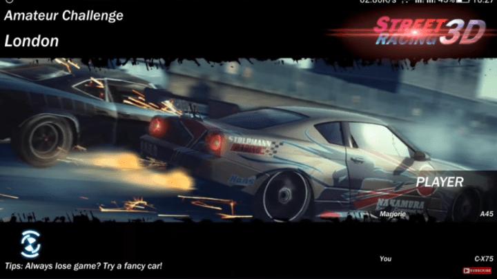 street racing 3d tips and tricks