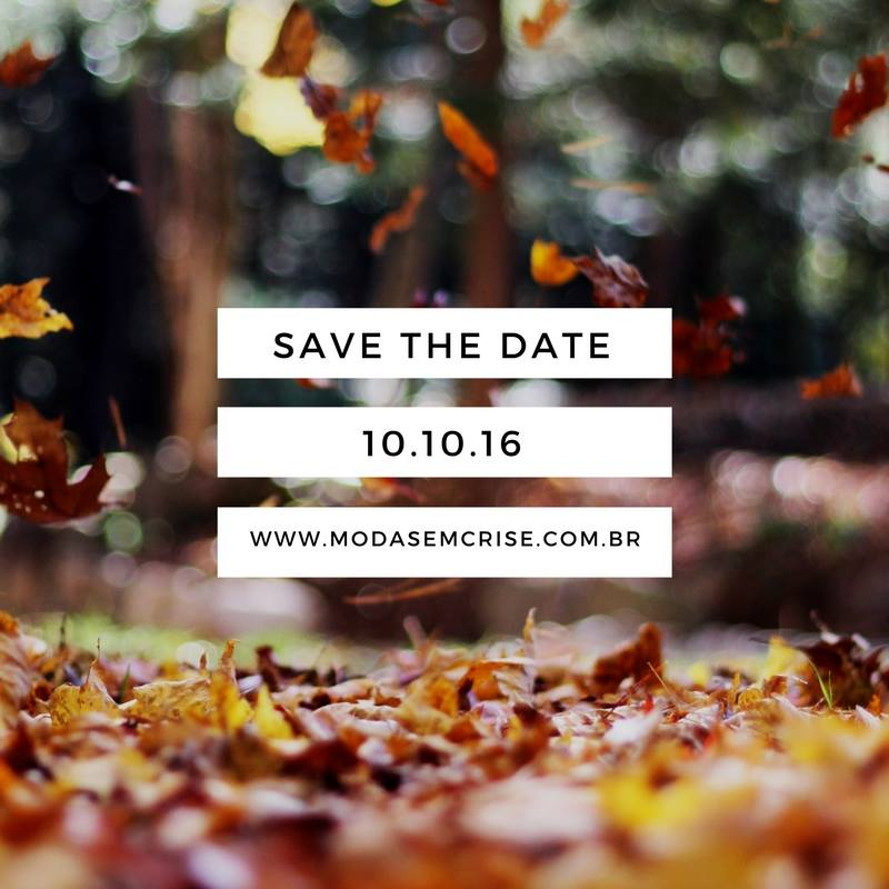 save the date moda sem crise