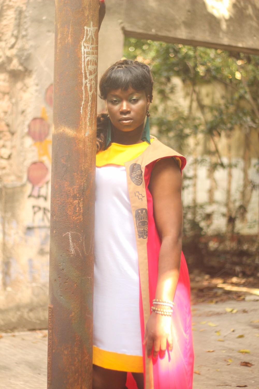 Editorial da coleção Hybrid - Foto: Jonatas Rocha - Modelo Prudence Kalambay