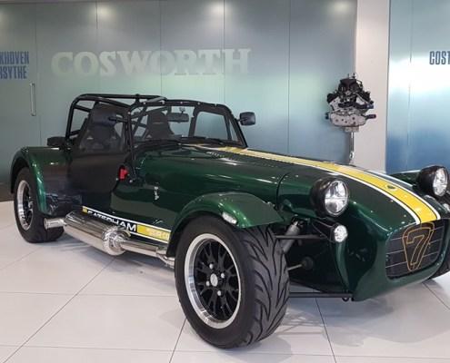 Caterham 540R at Cosworth