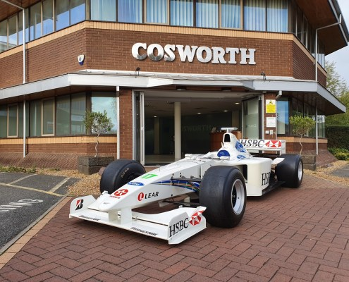 Stewart-Ford Cosworth SF3 Outside Cosworth