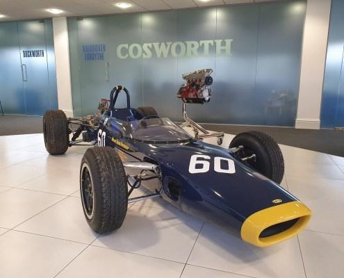 Lola T60 Formula 2 Car at Cosworth