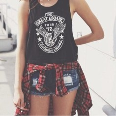 4dxaiz-l-c335x335-tank-jacket-shirt-blouse-t+shirt-shorts-summer+outfits-flannel-summer+shorts-dark+blue-demin+shorts-tumblr+shorts