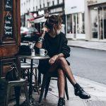 Vestido y medias de red
