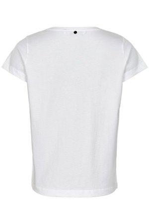 Camiseta Karitas de Nümph, vista por la espalda.