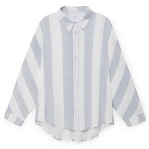 Camisa de rayas verticales bicolor. Skatïe.