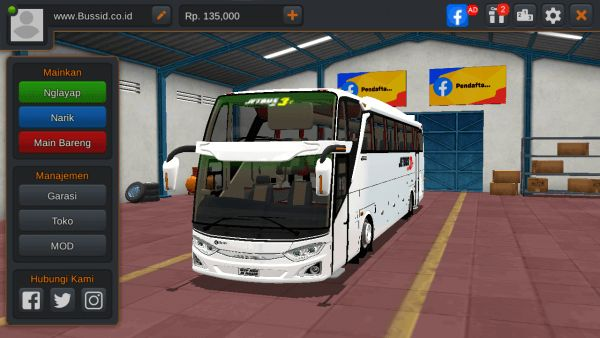 MOD Bus Jetbus 3+ SHD Air Suspension Sound 9 MN Cvt by WSP