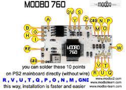 PS2 Modchip (SCPH 90002 & 79002)