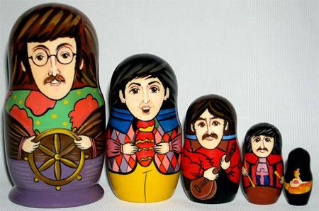 Beatles Matryushka