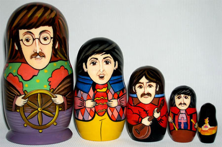 Beatles Matryushka