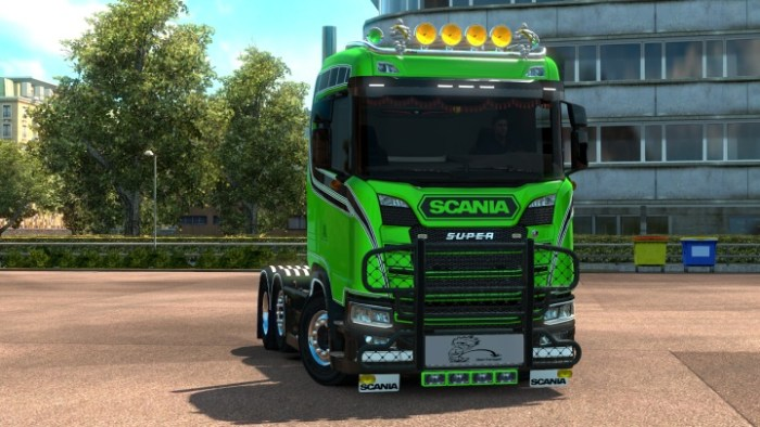 Old Skool skin for Next Generation Scania