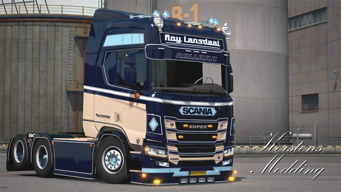 ETS2 Roy Lansdaal Scania R520