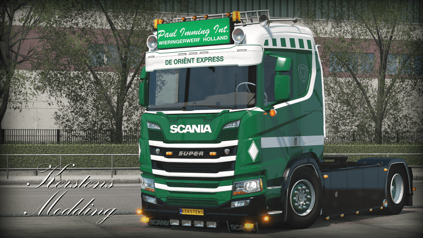 Paul Imming Next Generation Scania