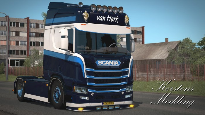 ETS2 Van Herk Scania Next Generation